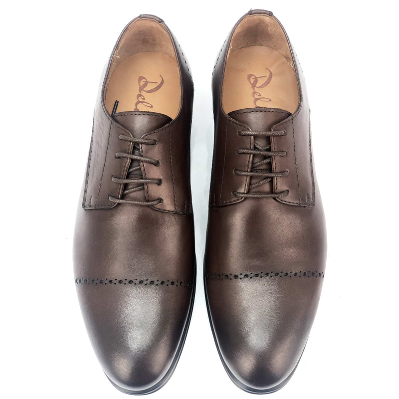 CH0041-015 - Chaussure cuir Marron - deluxe-maroc