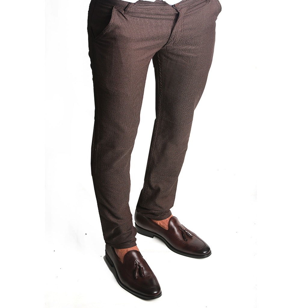 LOU-PANTALON MARRON