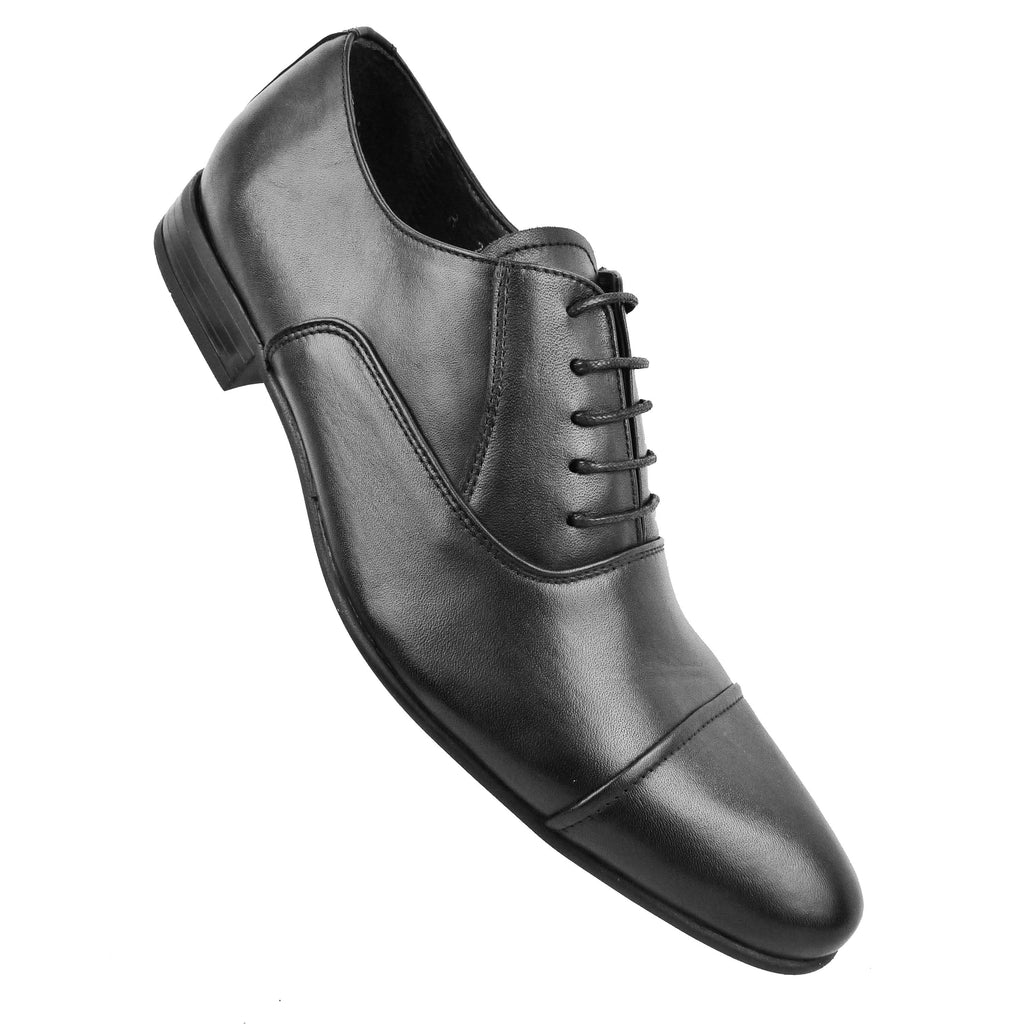 YARMIN - Chaussure Cuir Noir | Chaussure Homme Classe Maroc deluxe