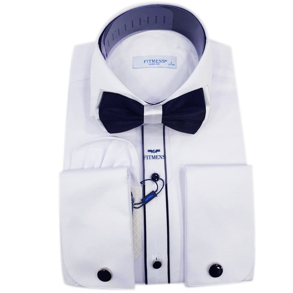 ABELLE-CHEMISE BLANCHE | CHEMISE HOMME TURQU