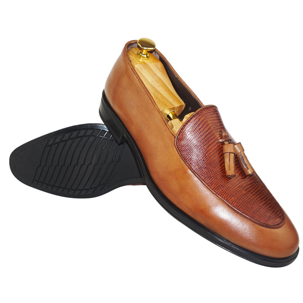 ADEM - Chaussure Cuir Tabac | Chaussure Homme Classe Maroc deluxe
