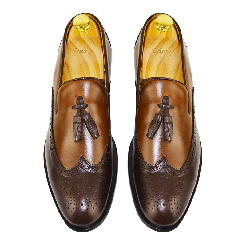 AXEL - Chaussure Cuir Marron | Chaussure Homme Classe Maroc