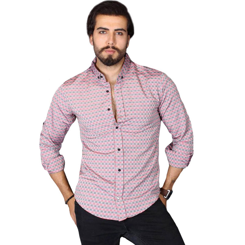 CHAMPA-CHEMISE ROUGE| CHEMISE HOMME TURQUE