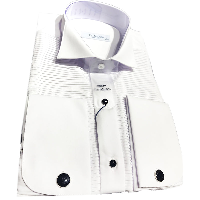 FREID-CHEMISE BLANCHE SMOKING | CHEMISE HOMME TURQUE