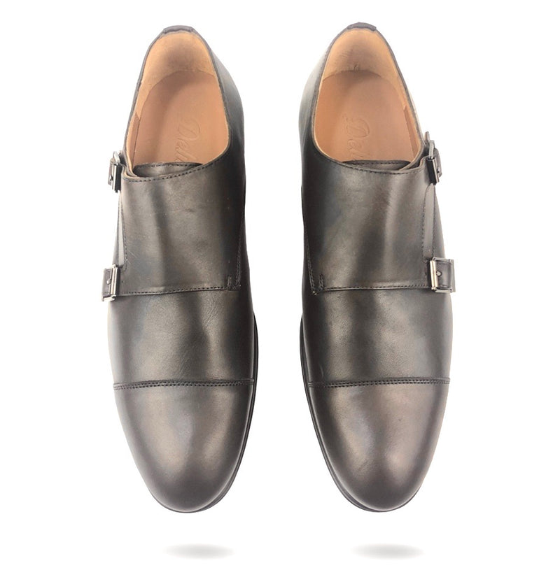 CH321-015 - Chaussure Cuir MARRON - deluxe-maroc