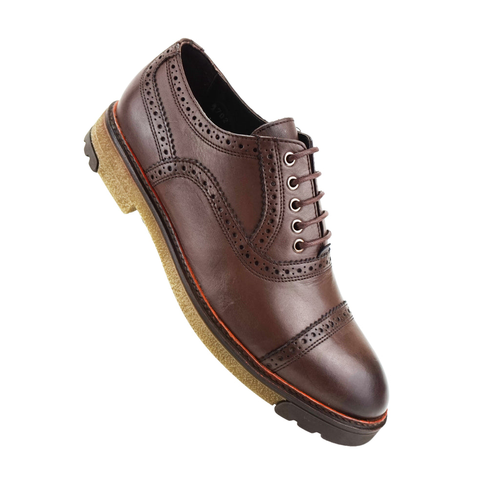 Mathis - Chaussure Cuir Tabac