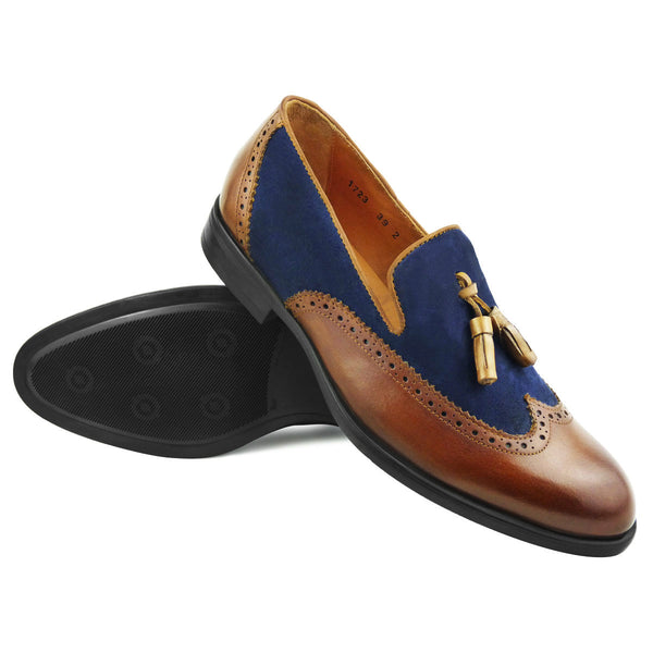 SAM - Chaussure Cuir Marron | Chaussure Homme Classe Maroc deluxe