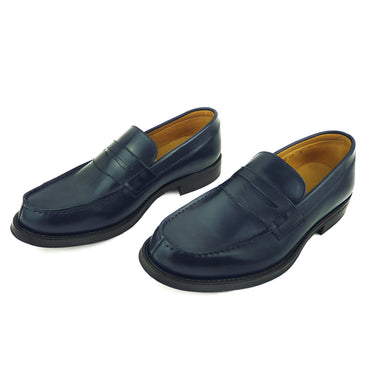 YANIS -Mocassin Cuir Blue | Mocassin Homme Maroc