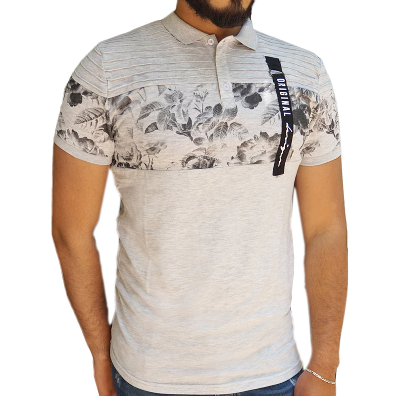 WESSLY  T-Shirt gris clair