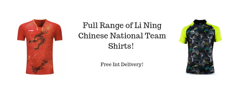 Li Ning Table Tennis Shirts