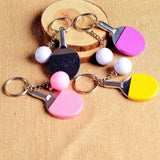 3Pcs Table Tennis Key Ring - Table Tennis Hub