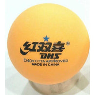 DHS Cell Free Dual  40+ Orange 1 Star Ball - Table Tennis Hub