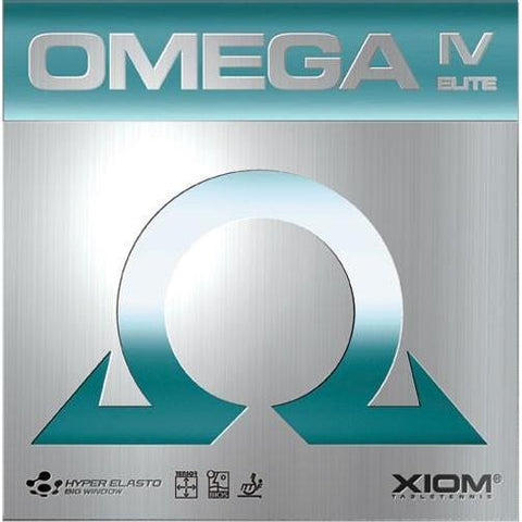 Xiom Omega IV Elite - Table Tennis Hub