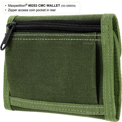 Maxpedition CMC Wallet Black 0253B - Naa Gear