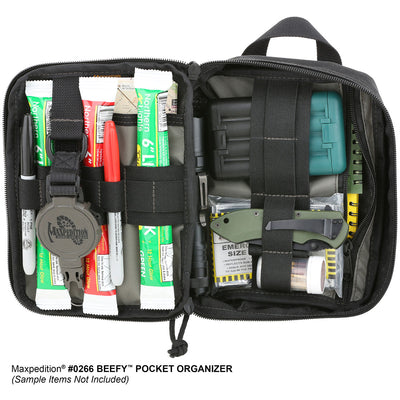 Maxpedition Beefy Pocket Organizer - Black 0266B - Naa Gear