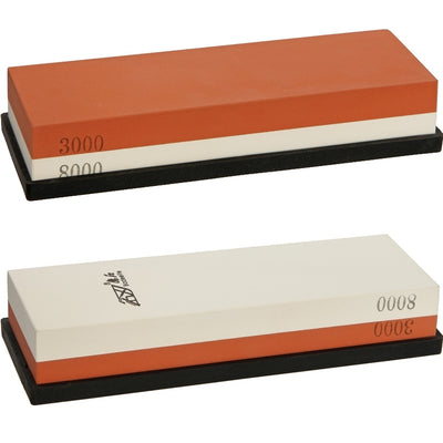 Real Steel Two Sided Japanese Whetstone 3000 / 8000 Grit - Naa Gear