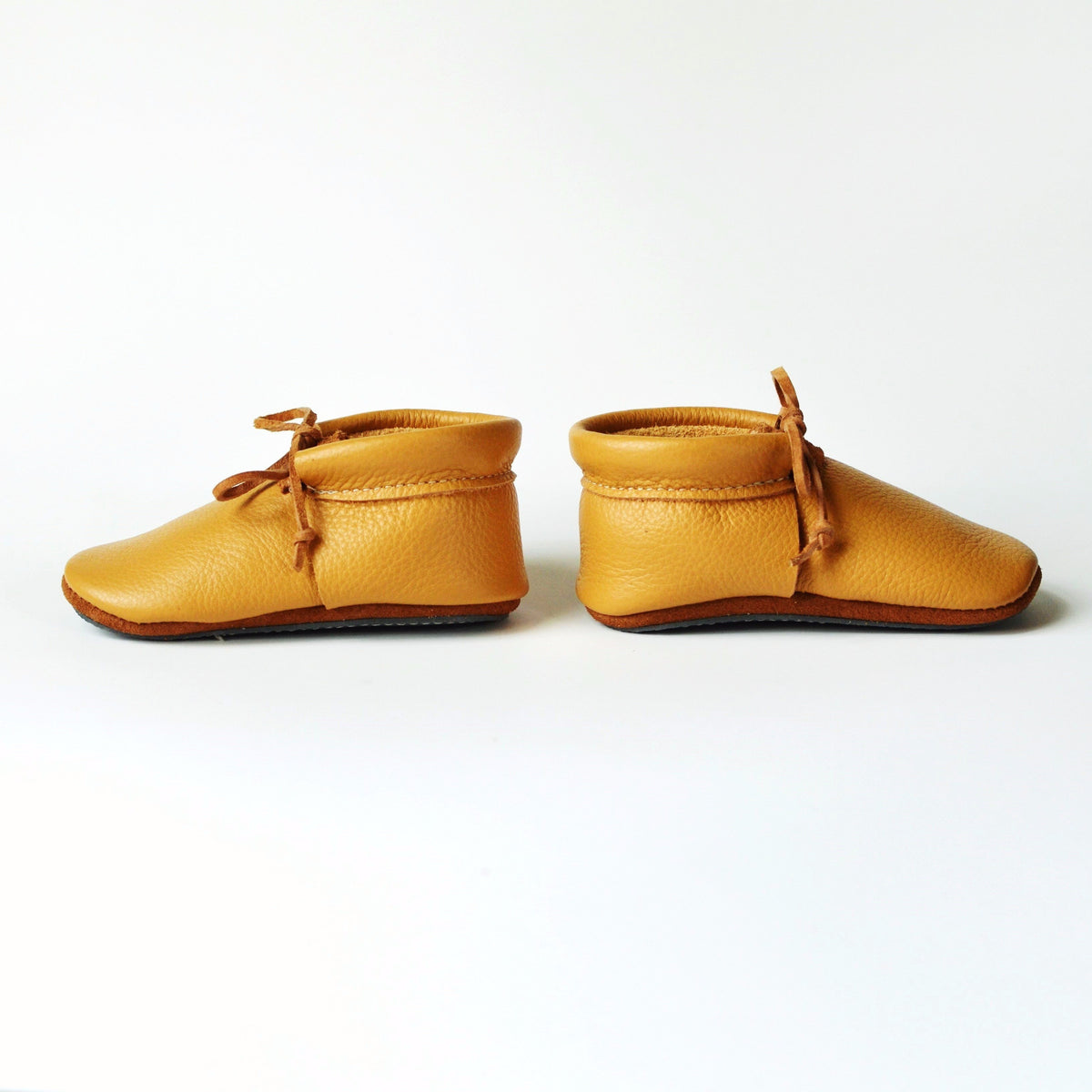 RTS- Mustard Loafer with Ties