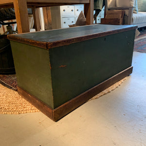 Antique Green Tool Chest