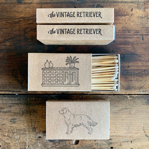Vintage Retriever Matches