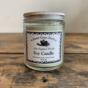Soy Candle - New England Woods