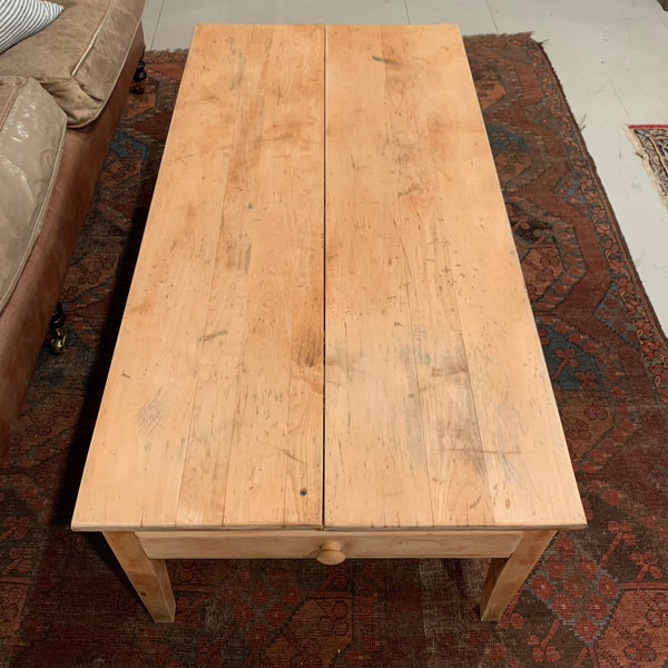 Vintage Coffee Table with Drawers