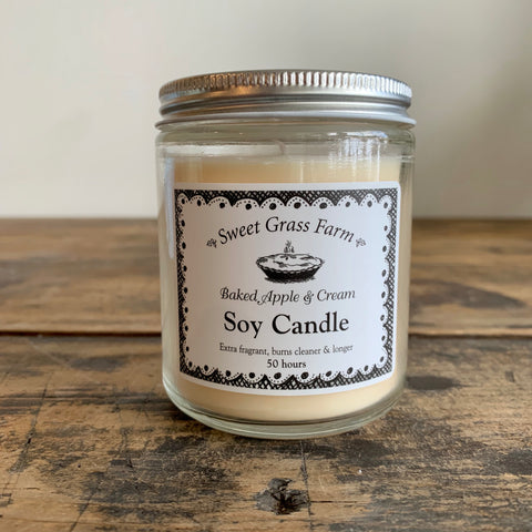 Soy Candle - Baked Apples and Cream