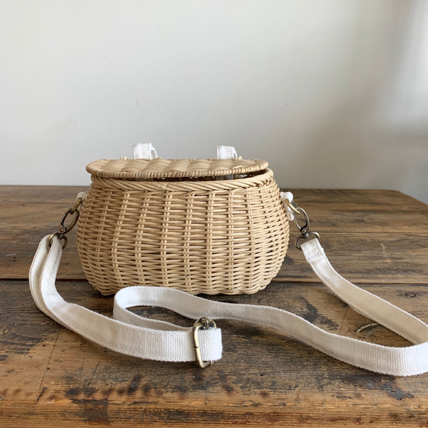 Mini Chari Bag - Straw