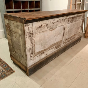 Antique Country Store Counter