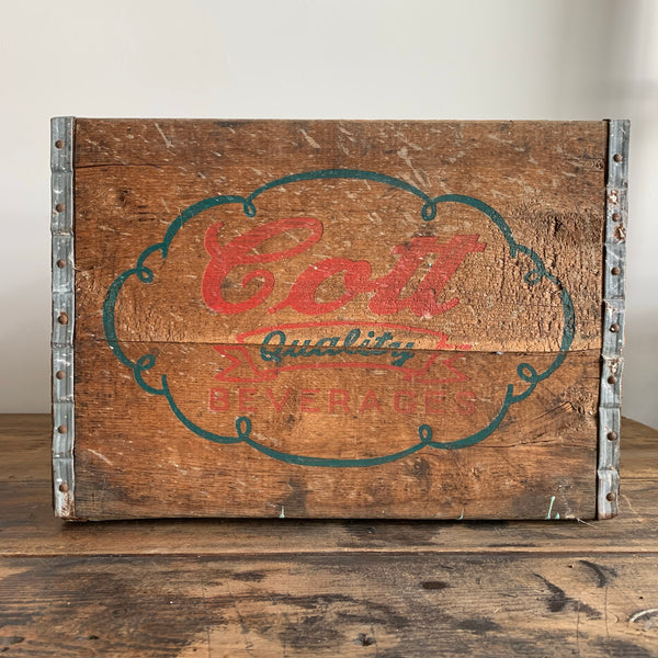 Cott Bottling Co. Crate
