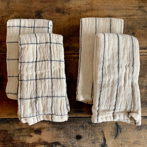 Set of 4 Woven Cotton Napkins