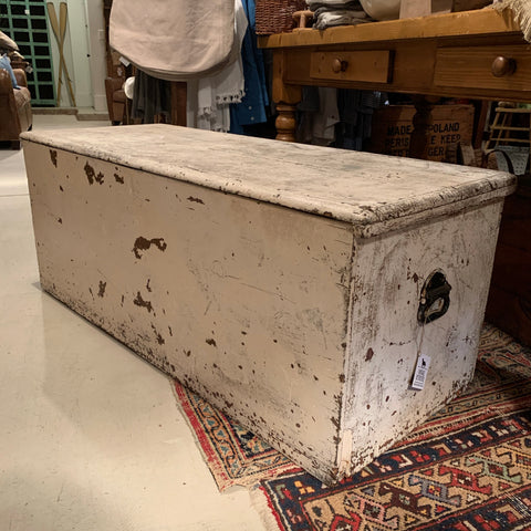 Antique White Tool Chest