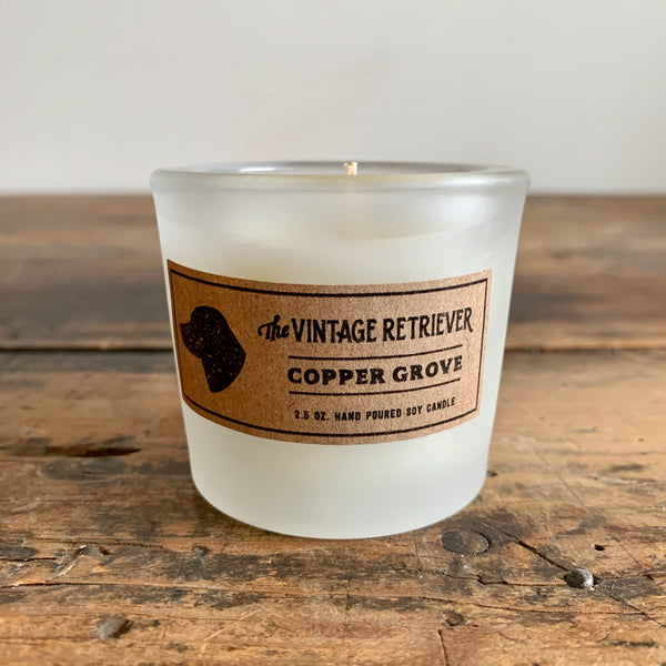 Vintage Retriever 2.5 oz. Copper Grove Candle