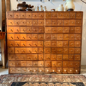 Antique Store Multi Drawer Cabinet