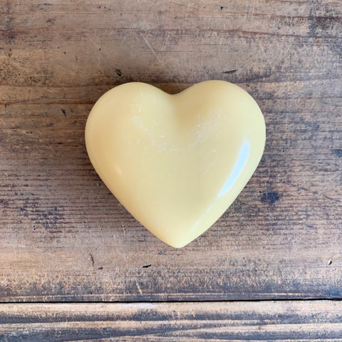 French Heart Soap - Lemongrass