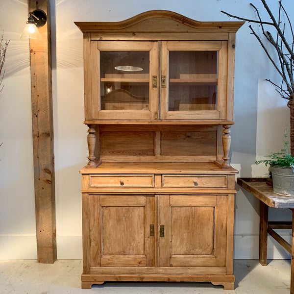 Antique Pine Hutch