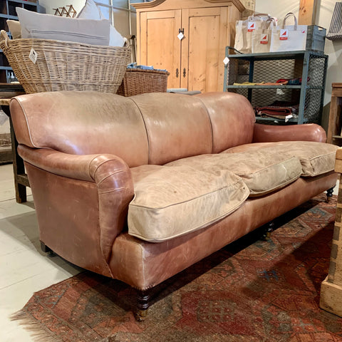 Vintage Leather Couch