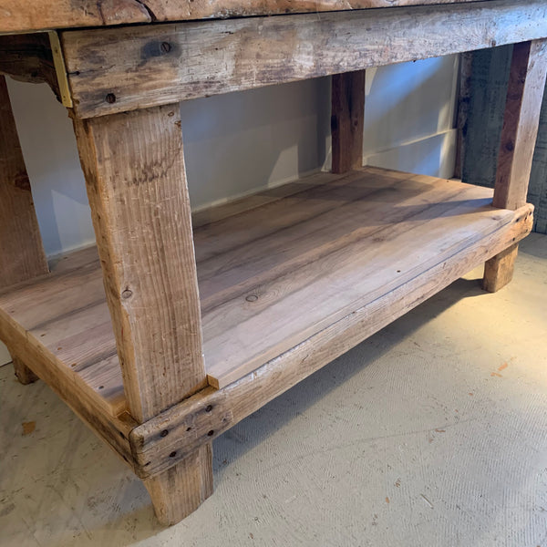 Vintage Workbench with Lower Level