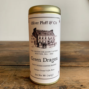 Oliver Pluff & Co. Green Dragon Coffee Blend Tin