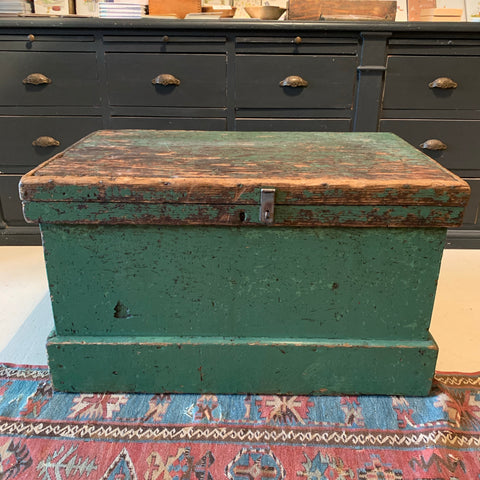 Vintage Green Tool Chest