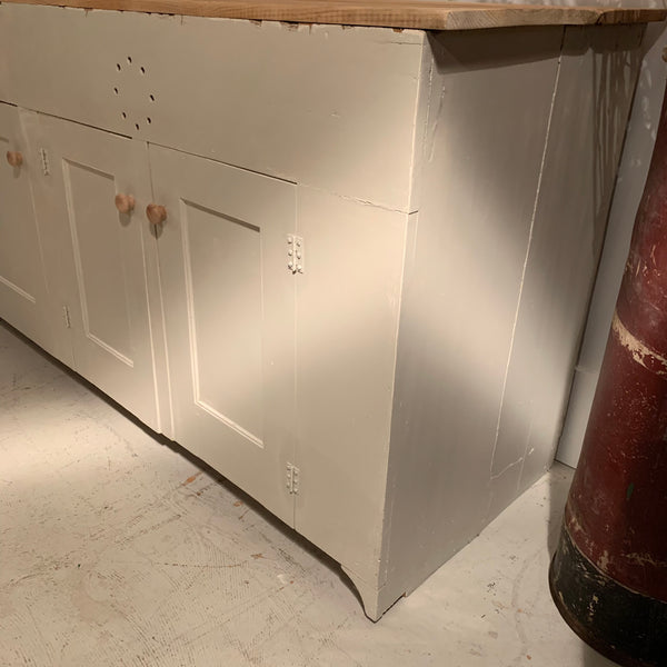 Vintage Painted Counter