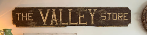 The Valley Store Sign