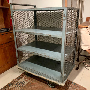 Industrial Shelving Cart