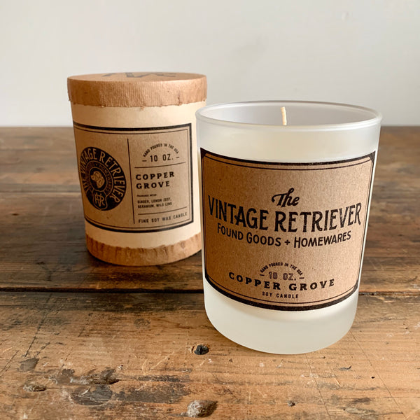 Vintage Retriever 10 oz. Copper Grove Candle