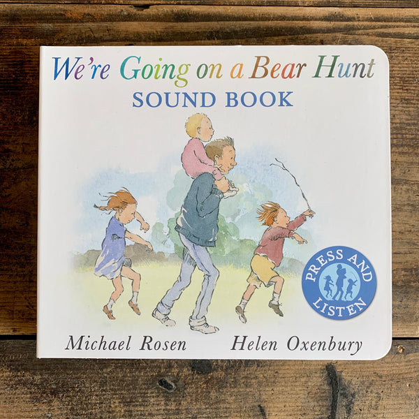 We're Going on a Bear Hunt, Sound Book