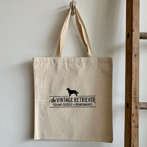 Vintage Retriever Tote Bag