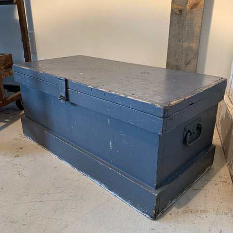 Vintage Blue Gray Chest
