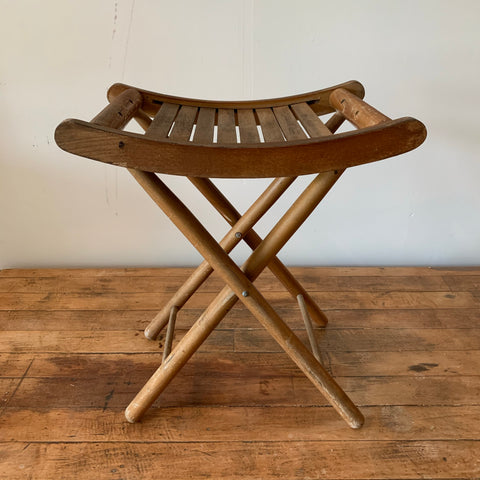 Vintage Wooden Stool