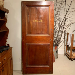 Vintage Private Door