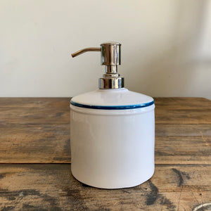 Enameled Soap Pump