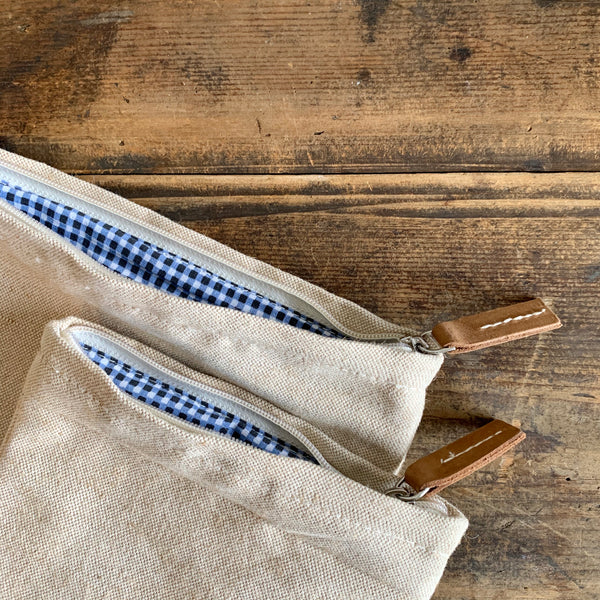 Set of 2 Jute Pouches